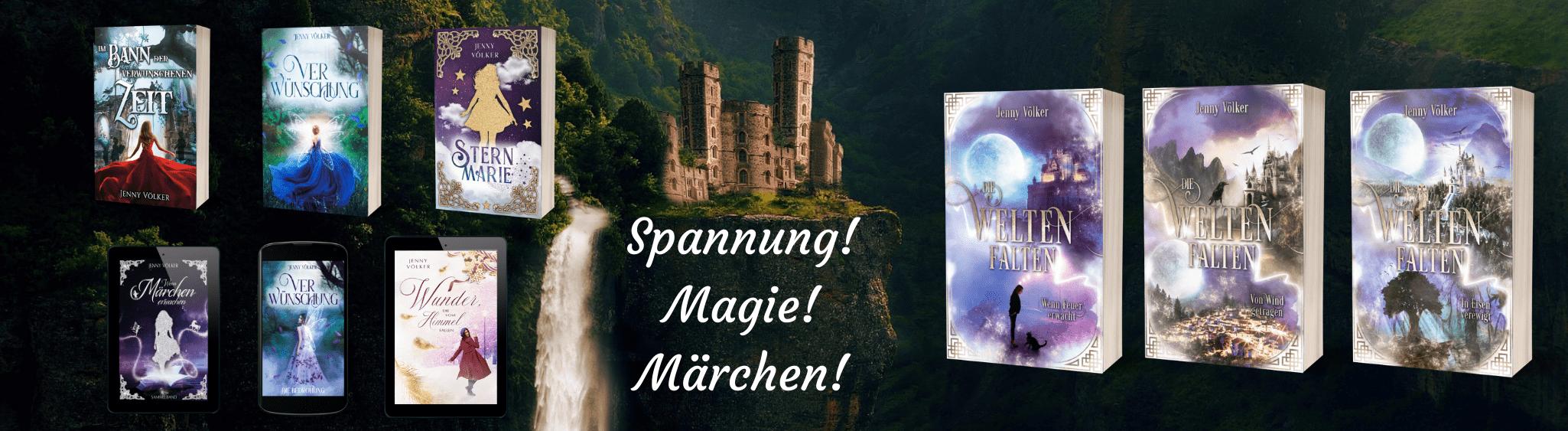 Jenny Völker ∞ Fantasy und Märchenromane